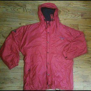 VTG POLO SPORT Ralph Lauren Red Parka Jacket SZ L